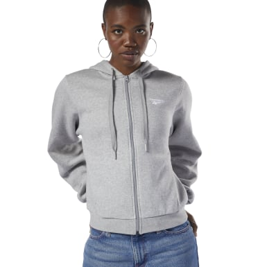 Women Classics Grey Classics Fleece Sweatshirt