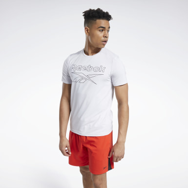 T-shirt Workout Ready ACTIVCHILL Bianco Uomo HIIT