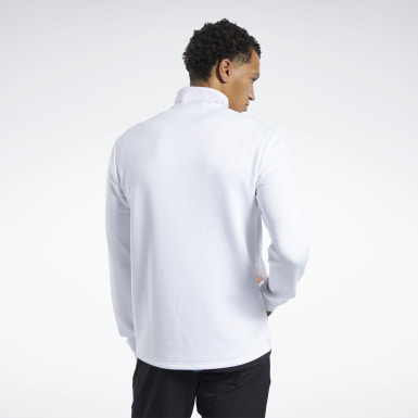 Men Montanhismo White Speedwick Quarter-Zip Top