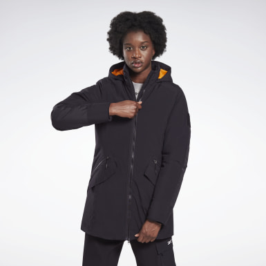 Women Outdoor Black Outerwear Urban Thermowarm REGUL8 Parka