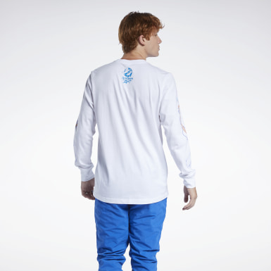 Classics White Ghostbusters Long Sleeve Tee
