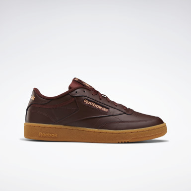 Men Classics Burgundy Club C 85 Men's Shoes