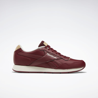 Men Classics Red Reebok Royal Glide Shoes