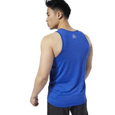 Men Studio Blue LES MILLS® ACTIVCHILL Tank Top