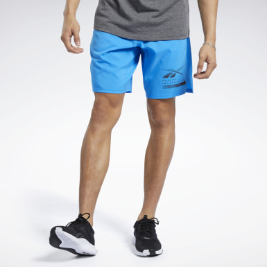 Men Fitness & Training Blue Epic Lightweight Shorts