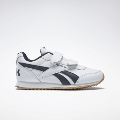Boys Classics White Reebok Royal Classic Jogger 2 Shoes - Preschool