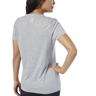 Remera Graphic Series Today Counts Gris Mujer Entrenamiento Funcional