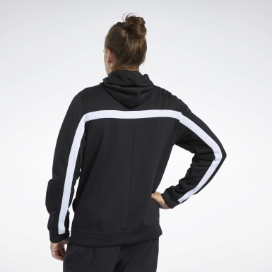 Men Fitness & Training Black Workout Ready Hoodie