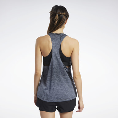 Women Running Grey One Series Tank Top