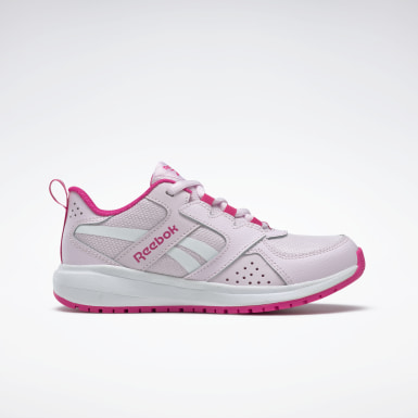 Kids Running Pink Reebok Road Supreme 2 Shoes - Preschool