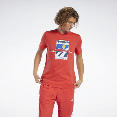 T-shirt Classics International Rouge Classics