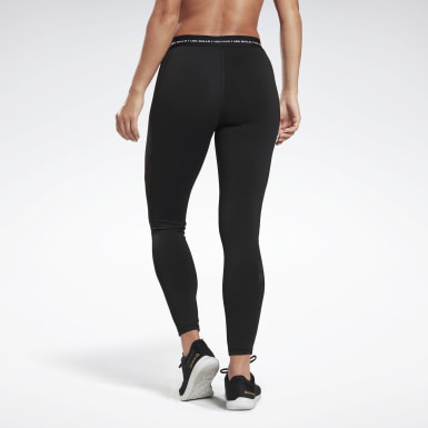 Frauen Studio LES MILLS® High-Rise Tight Schwarz