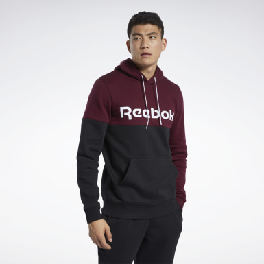 Herr Fitness & Träning Burgundy Training Essentials Logo Hoodie