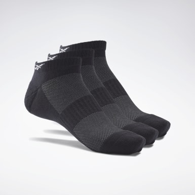 Cross Training Black Active Foundation Low-Cut Socks 3 Pairs