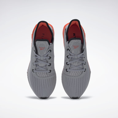 Men Running Grey Reebok Flashfilm 2.0 Shoes