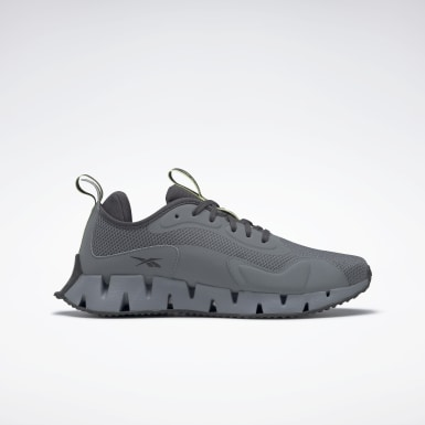 Men Running Grey Zig Dynamica Shoes