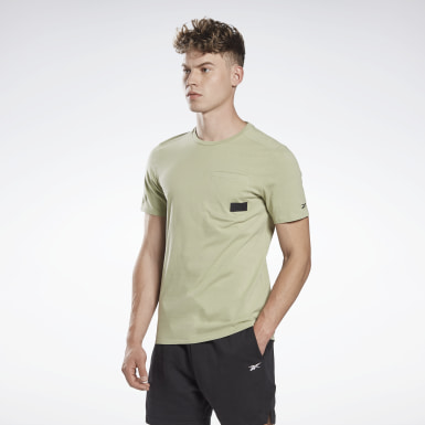 Heren Studio Grijs LES MILLS® Pocket T-shirt