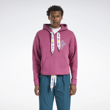 Classics Pink Reebok by Pyer Moss Hoodie