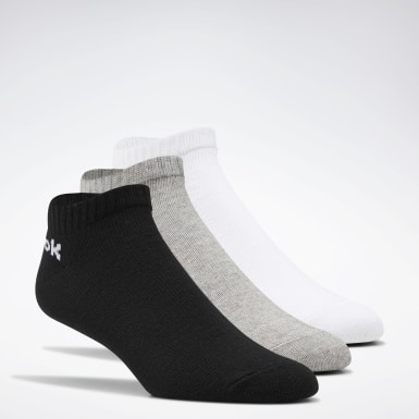 Calcetines de corte bajo Active Core - 3 pares Blanco Fitness & Training