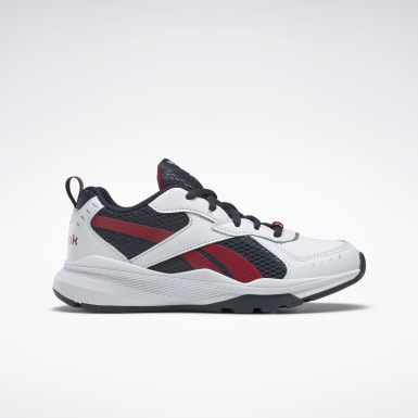 Kids Running White Reebok XT Sprinter Shoes