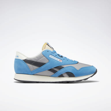 Men Classics Blue Classic Nylon Shoes