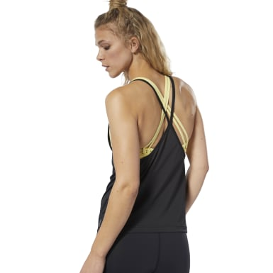 Women Studio Black LES MILLS® Tank Top