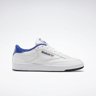 Men Classics White Eric Emanuel Club C 85 Shoes