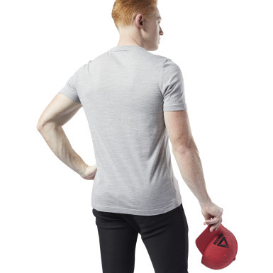Training Essentials Marble Melange Tee