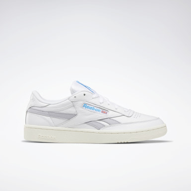 Men Classics White Club C Revenge Plus Men's Shoes