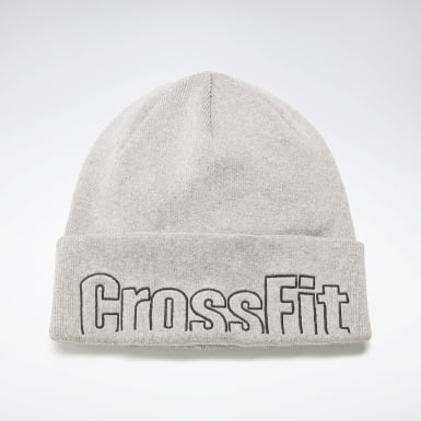 Cross Training Grey CrossFit® Graphic Beanie