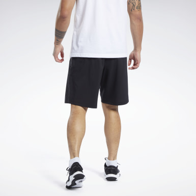 Shorts Workout Ready Graphic Negro Hombre Entrenamiento Funcional