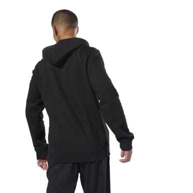 Buzo con capucha Elements Fleece Full-Zip Negro Hombre Fitness & Training