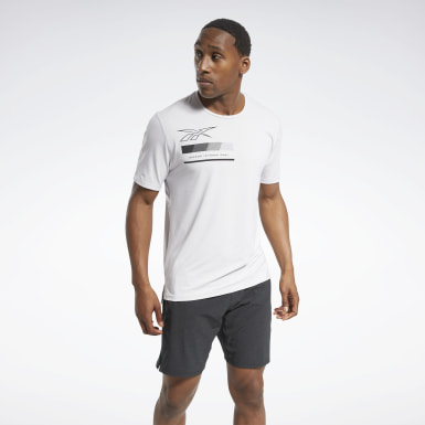 Men Training White ACTIVCHILL Graphic Move Tee