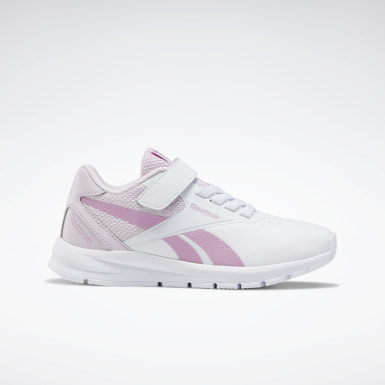 Kids Running White Reebok Rush Runner 2.0 Shoes