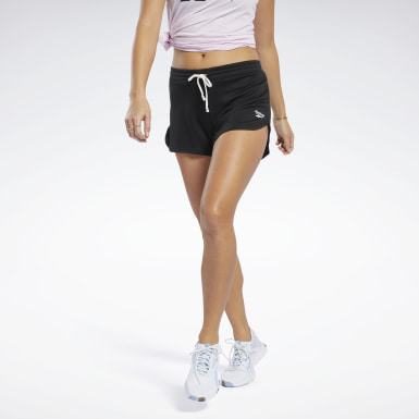Women Fitness & Training Black Training Essentials Shorts