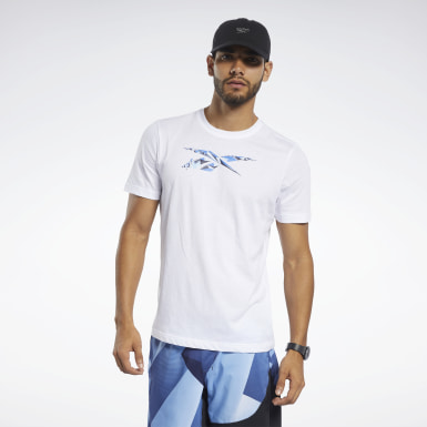 Camiseta Graphic Blanco Hombre Fitness & Training