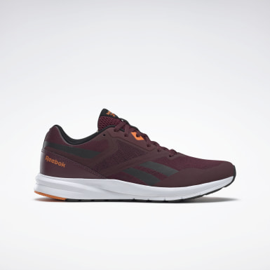 Men Running Burgundy Reebok Runner 4.0 Shoes