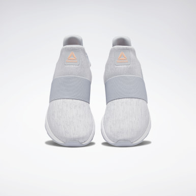 Women Walking Grey Ever Road DMX Slip-On Women's Shoes