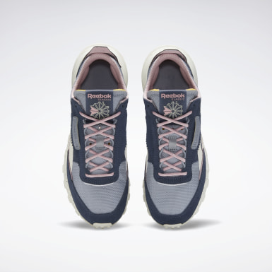 Tenis Classic Leather Legacy Azul Mujer Classics