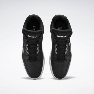 Men Classics Black Reebok Royal BB4500 Hi 2 Shoes