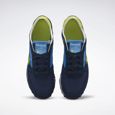 Classics Blue Classic Leather AZ Shoes