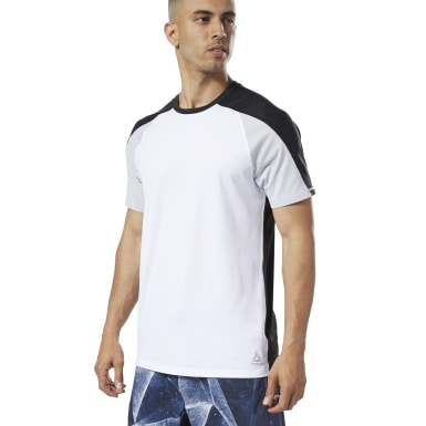 Remera One Series Training SmartVent Move Blanco Hombre Fitness & Training