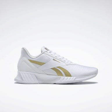 Women Running White Reebok Lite Plus 2 Shoes