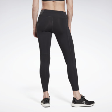 Women Trail Running Black Running Essentials Leggings
