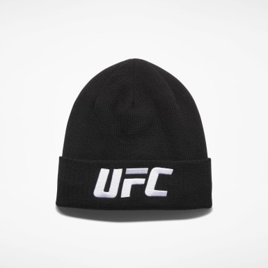 Fitness & Training Black UFC Logo Beanie