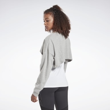 Women Studio Grey LES MILLS® Lifestyle Top