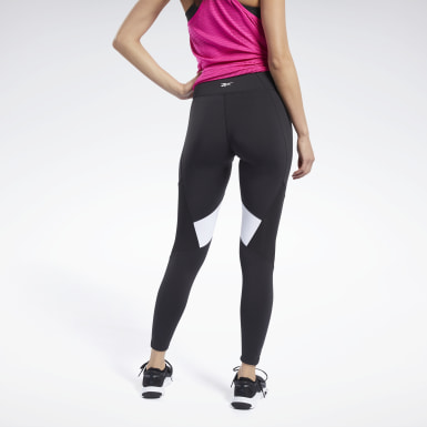 Women HIIT Black Lux Colorblock 2 Leggings