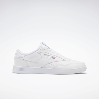 Men Classics White Reebok Club MEMT Men's Shoes
