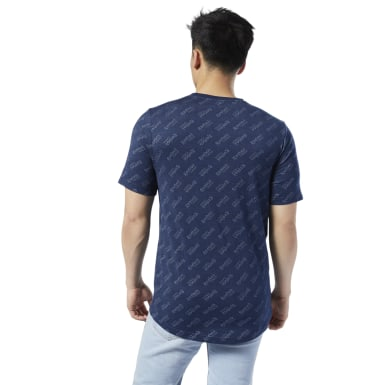 Playera Estampada Classic Leather Aop