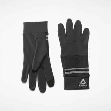Running Black Running Gloves
